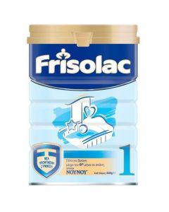 NOYNOY Frisolac , Βρεφικό Γάλα Νο1 μέχρι τον 6 μήνα 400gr