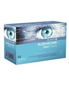 Helenvita Blephacare Duo Wipes, 14τεμ