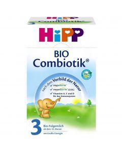 HiPP 3 Bio Combiotic Βρεφικό Γάλα από τον 12ο μήνα 600gr