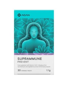 Agan Suprammune Prevent Συμπλήρωμα για την Προστασία & Αντιμετώπιση του Κρυολογήματος, 30tabs
