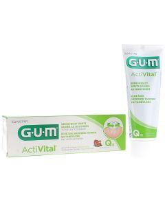 Gum 6050 Activital Q10 Toothgel Οδοντόκρεμα για την Καθημερινή Προστασία των Ούλων, 75ml
