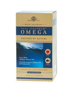 Solgar Wild Alaskan Full Spectrum Omega, 120sofgels