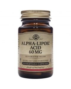 Solgar Alpha Lipoic Acid 60mg, 30caps