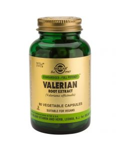 Solgar SFP Valerian Root Extract, 60caps