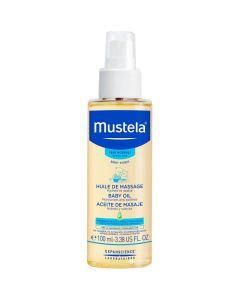 Mustela Baby Oil Βρεφικό-Παιδικό Λάδι για Μασάζ 100ml