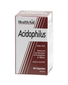 Healh Aid Acidophilus Για την Υγιή Λειτουργία του Εντέρου 60caps
