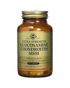 Solgar Extra Strength Glucosamine Chondroitin MSM, 60tabs