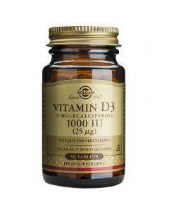 Solgar Vitamin D3 1000IU, 90tabs