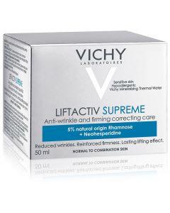 Vichy LIFTACTIV Supreme Κατάλληλη για Kανονική / Mικτή & Eυαίσθητη Eπιδερμίδα, 50ml