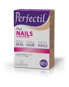 Vitabiotics Perfectil Plus Nails Extra Support, Υγιή Μαλλιά, Δέρμα & Νύχια, 60tabs