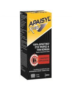 Merck Apaisyl Poux Expert 100 ml ολοκάινουργια δραστική λοσιόν αγωγής που εξαλείφει 100% ψείρες αλλα και κόνιδες.