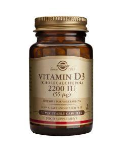 Solgar Vitamin D3 2200 IU / 55μg, 50caps
