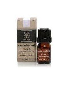 Apivita Essential Oil Thyme 100%, 5ml
