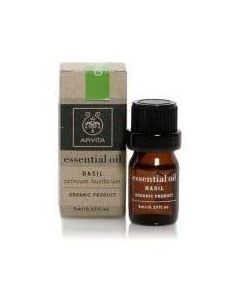 Apivita Essential Oil Basil 100%, 5ml