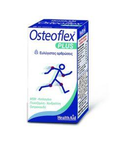 Health Aid Osteoflex Plus Γλυκοσαμίνη, Χονδροϊτίνη, MSM, Κολλαγόνο, 60 Ταμπλέτες