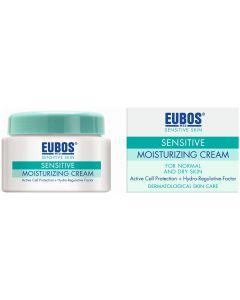 Eubos Sensitive Skin Ενυδατική Κρέμα Ημέρας Για Κανονικές Και Ξηρές Επιδερμίδες, 50ml