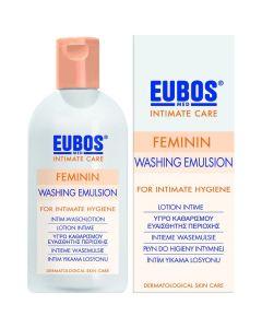 Eubos Feminin Washing Emulsion Υγρό Καθαρισμού για την Ευαίσθητη Περιοχή, 200ml