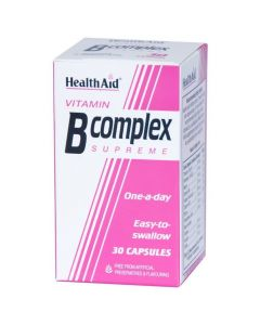 Health Aid B-Complex, 30Caps