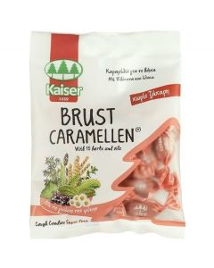 Kaiser Brust Καραμέλες για το Βήχα με 15 Βότανα και Έλαια 60gr