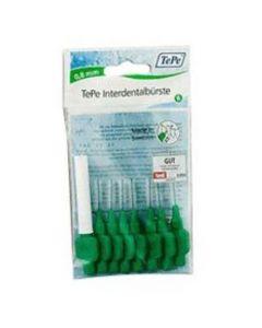 TePe No5 0.8mm πράσινο Μεσοδόντια Βουρτσάκια, 8τμχ