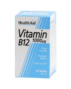 Health Aid Vitamin B12, 1000mg 50Tabs
