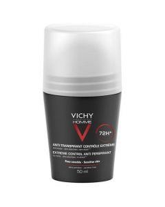 Vichy HOMME Deodorant Anti - Transpirant 72h Roll On, 50ml