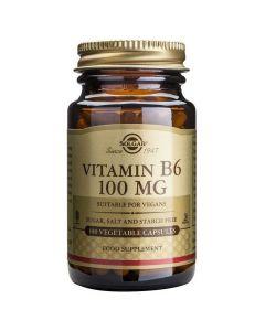 Solgar Vitamin B6 100mg, 100veg.caps