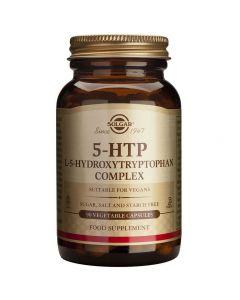 Solgar 5-HTP (5-hydroxytryptophan) Complex 100mg Συμπληρώμα με την υδροξυλιωμένη μορφή του αμινοξέως τρυπτοφάνη, 90caps