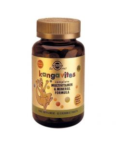 Solgar Kangavites Tropical Punch Flavour, 60tabs