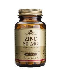 Solgar Zinc Gluconate 50mg, 100tabs
