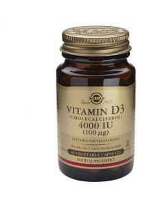 Solgar Vitamin D3 4000 IU / 100μg, 60caps