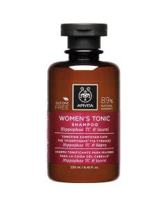 Apivita Women's Tonic Shampoo with Hippophae TC & Laurel, 250ml
