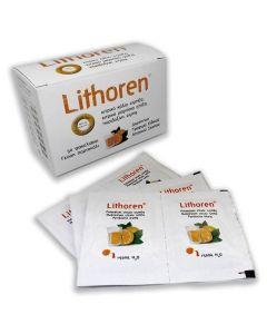 Meditrina Lithoren Διαιτητικό Τρόφιμο Είδικου Ιατρικού Σκοπού με γεύση πορτοκάλι, 30sachets