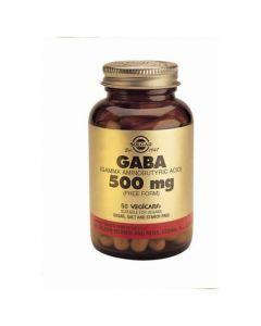 Solgar GABA 500mg, 50caps