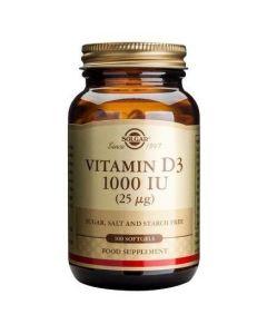 Solgar Vitamin D3 1000IU ,100 Softgels