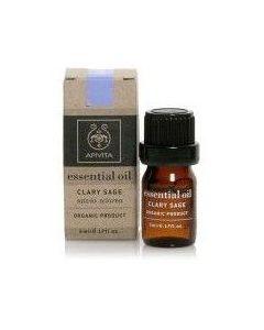 Apivita Essential Oil, Αιθέριο Έλαιο με Φασκόμηλο 5ml