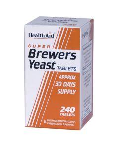 Health Aid Brewers Yeast, Μαγιά Μπύρας 300mg, 240tabs