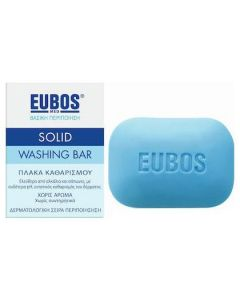 Eubos Solid Washing Bar Blue, 125gr