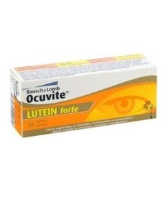 Bausch & Lomb Ocuvite Lutein Forte Συμπλήρωμα Διατροφής για την Καλή Υγεία των Ματιών, 30 caps