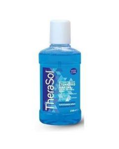 Therasol Μπλε Αντιμικροβιακό Στοματικό Διάλυμα με γεύση Μέντας, 250 ml