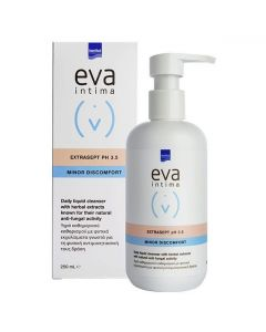 Intermed Eva Intima Extrasept pH 3.5 Minor Discomfort Υγρό Καθημερινού Καθαρισμού Ευαίσθητης Περιοχής, 250ml