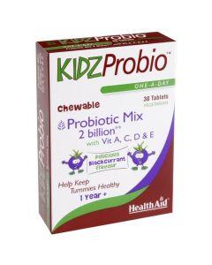 Health Aid Kidz Probio Chewable, Παιδικά Προβιοτικά Μασώμενα 30Tabs