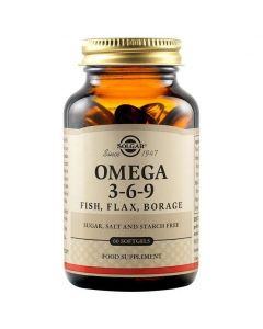Solgar Omega 3-6-9, 60softgels