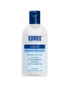 Eubos Liquid Washing Emulsion Blue, 200ml