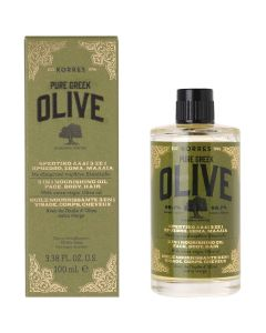 Korres Olive Θρεπτικό Λάδι 3 σε 1 Πρόσωπο/Σώμα/Μαλλιά 100ml