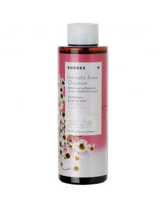 Korres Intimate Area Cleanser Καθαρισμός Ευαίσθητης Περιοχής με Χαμομήλι & Lactic Acid, 250ml