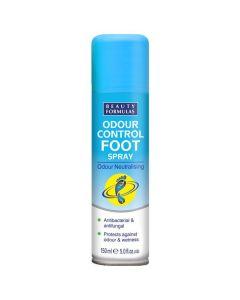Beauty Formulas Αποσμητικό Spray Ποδιών, 150ml