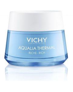 Vichy Aqualia Thermal Rich Rehydrating Cream, Ενυδατική Κρέμα Προσώπου Πλούσιας Υφής 50ml