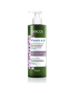 Vichy Dercos Vitamin A.C.E. Shine Shampoo, Σαμπουάν Λάμψης, 250ml