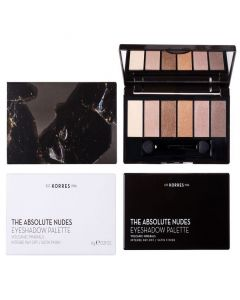 Korres Volcanic Minerals Eyeshadow Palette The Absolute Nudes